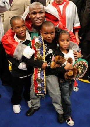 Floyd Mayweather, Jr. Children