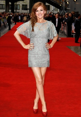 Isla Fisher Height Body Shape