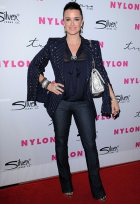 Kyle Richards Height Body Shape