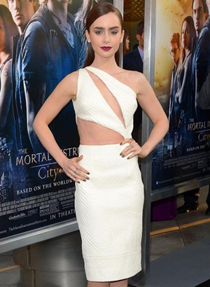 Lily Collins Body Measurements