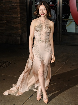 Lily Collins Height Body Shape
