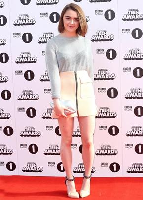 Maisie Williams Height Body Shape