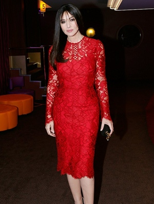 Monica Bellucci Height Body Shape