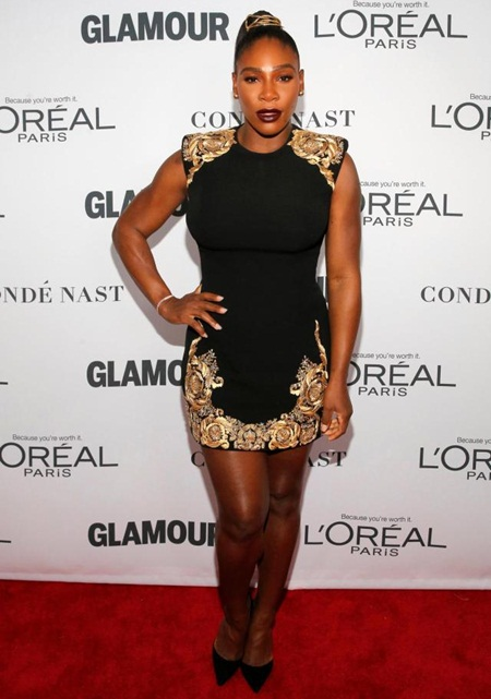 Serena Williams Height Weight Legs