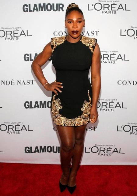 Serena Williams Height Weight Legs