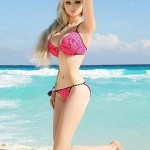 Human Barbie Valeria Lukyanova Body Measurements Bra Size Height Weight Shoe Dress Vital Statistics