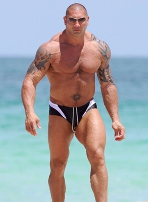 Dave Batista Height Body Shape
