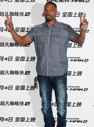 Jamie Foxx Height Body Shape