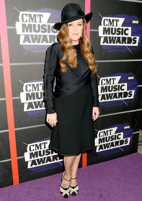 Lisa Marie Presley Height Body Shape