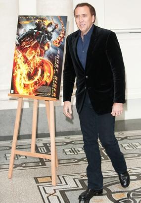 Nicolas Cage Height Body Shape