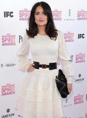 Salma Hayek Height Body Shape