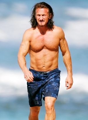 Sean Penn Height Body Shape