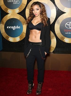 Tinashe Height Body Figure Shape