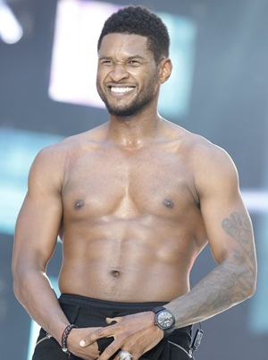 Usher Body Measurements