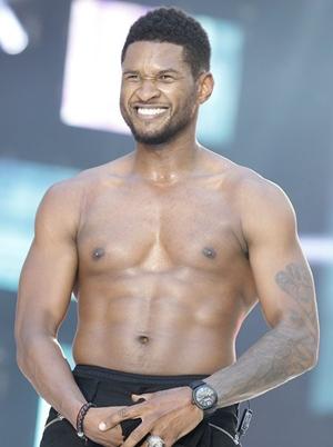 Usher Body Measurements