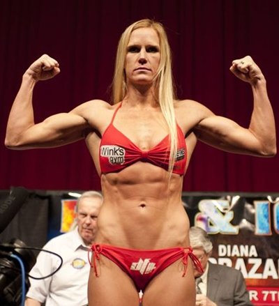 Holly Holm Body Measurements