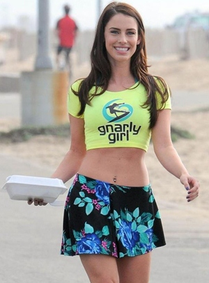 Body Measurements of Jessica Lowndes