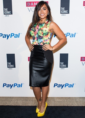 Jessica Mauboy Height Body Figure Shape