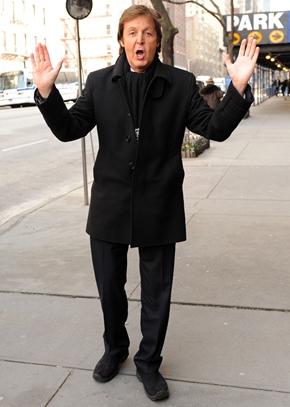 Paul McCartney Height Body Shape