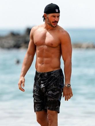 Joe Manganiello Body Measurements Abs Biceps