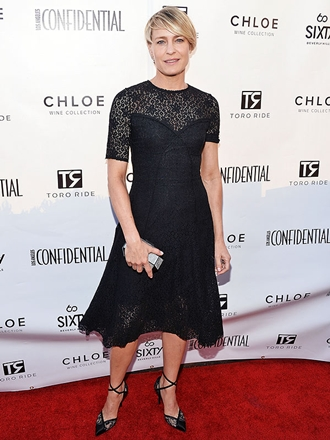 Robin Wright Height Body Figure Shape
