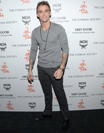 Aaron Carter Height Weight Body Shape