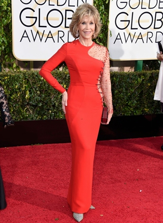 Jane Fonda Body Measurements Height Weight