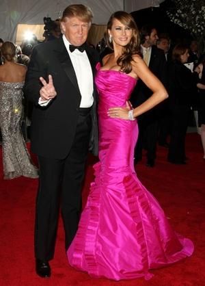 Melania Trump Body Measurements with Husband Donald