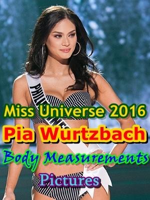 Pia Wurtzbach Miss Universe 2016