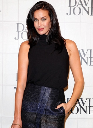 Megan Gale Body Measurements Height Weight