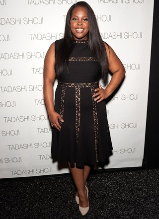 Amber Riley Height Weight Body Shape