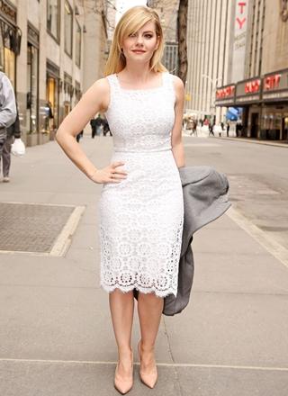 Elisha Cuthbert Height Weight Body Figure Shape