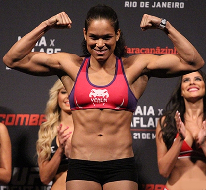 Amanda Nunes Body Measurements Bra Size
