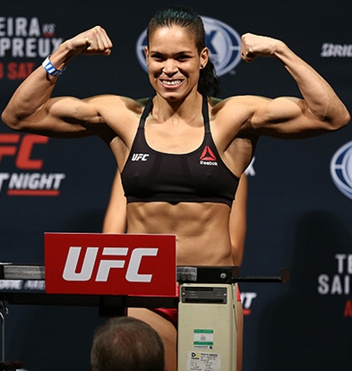 Amanda Nunes Height Weight Body Figure Shape