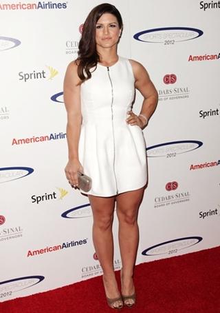 Gina Carano Height Weight Body Figure Shape
