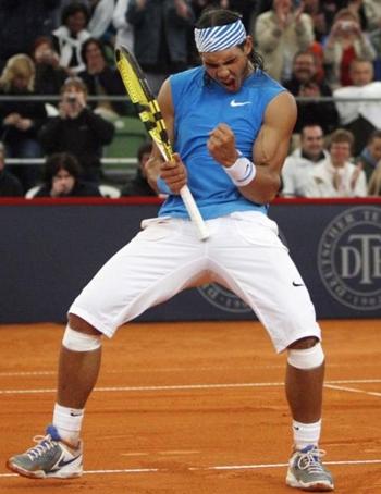 Rafael Nadal Body