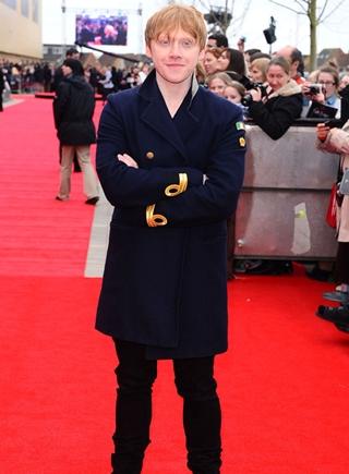 Rupert Grint Height Weight Body Shape