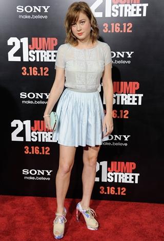 Brie Larson Body Measurements Bra Size