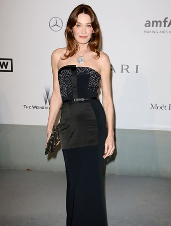 Carla Bruni Body Measurements Height Weight