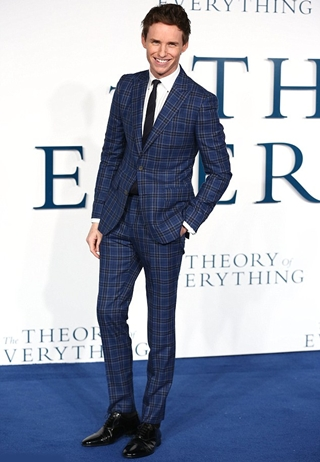 Eddie Redmayne Height Weight Body Shape