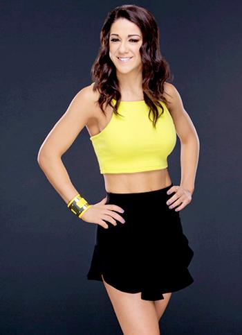 Bayley WWE Body Measurements Bra Size