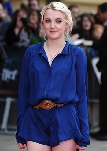 Evanna Lynch Body Measurements Height Weight