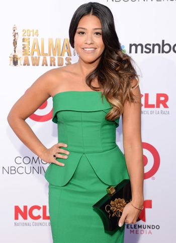 Gina Rodriguez Body Measurements Bra Size