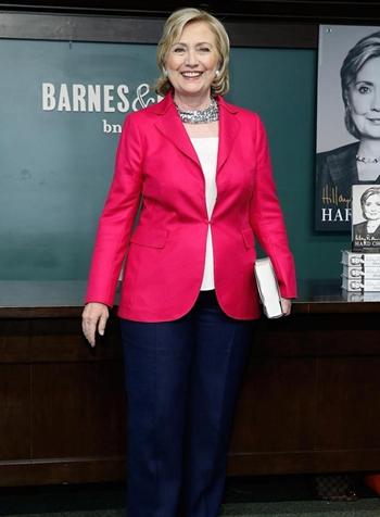 Hillary Clinton Height Weight Body Shape