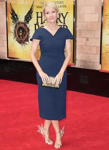 J. K. Rowling Height Weight Body Shape
