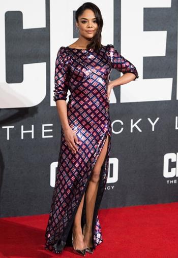 Tessa Thompson Height Weight Body Figure Shape