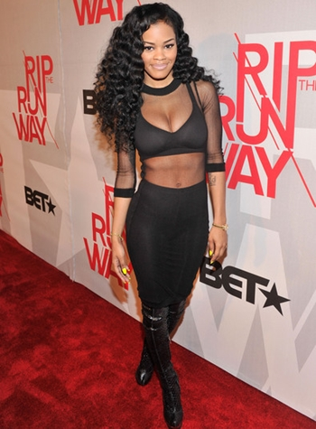 Teyana Taylor Body Measurements Bra Size
