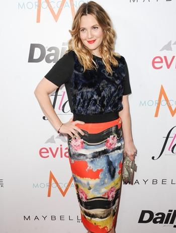 Drew Barrymore Body Measurements Bra Size
