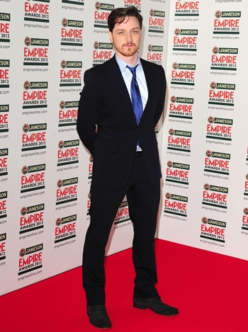 James McAvoy Height Weight Body Shape