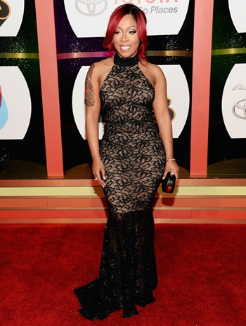 K. Michelle Height Weight Body Shape